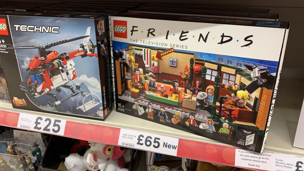 LEGO Ideas Friends 21319 Central Perk Tesco 1024x576