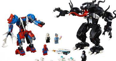 LEOG Marvel 76115 Spider-Man vs Venom Mech