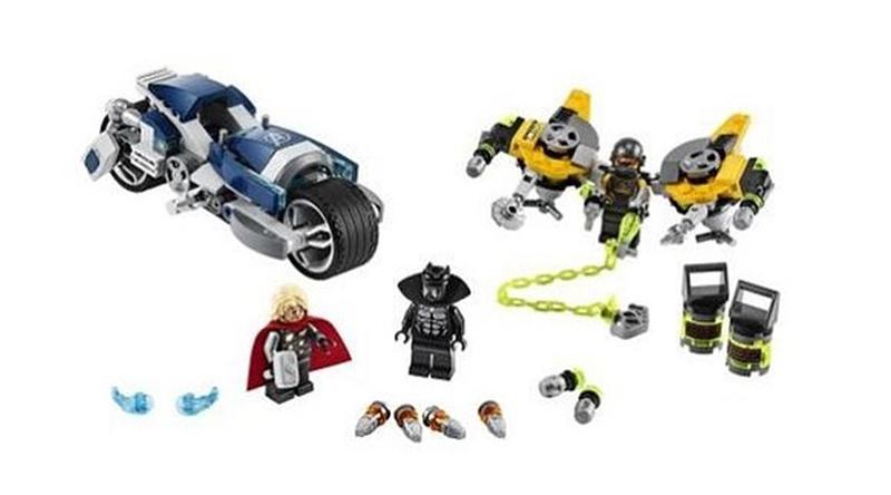 LEGO Marvel Avengers 76142 Avengers Speeder Bike Attack featured 800 445