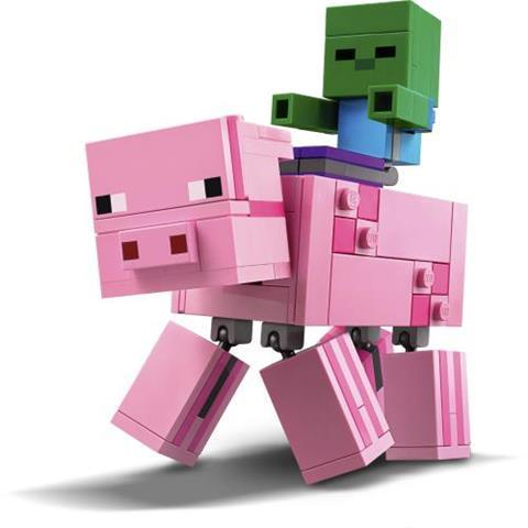 LEGO-Minecraft-21157-Pig-with-Zombie-Bigfig-2