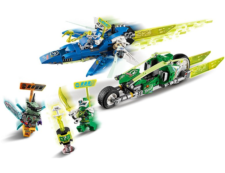 LEGO-NINJAGO-71709-Jay-and-Lloyds-Velocity-Racers-3