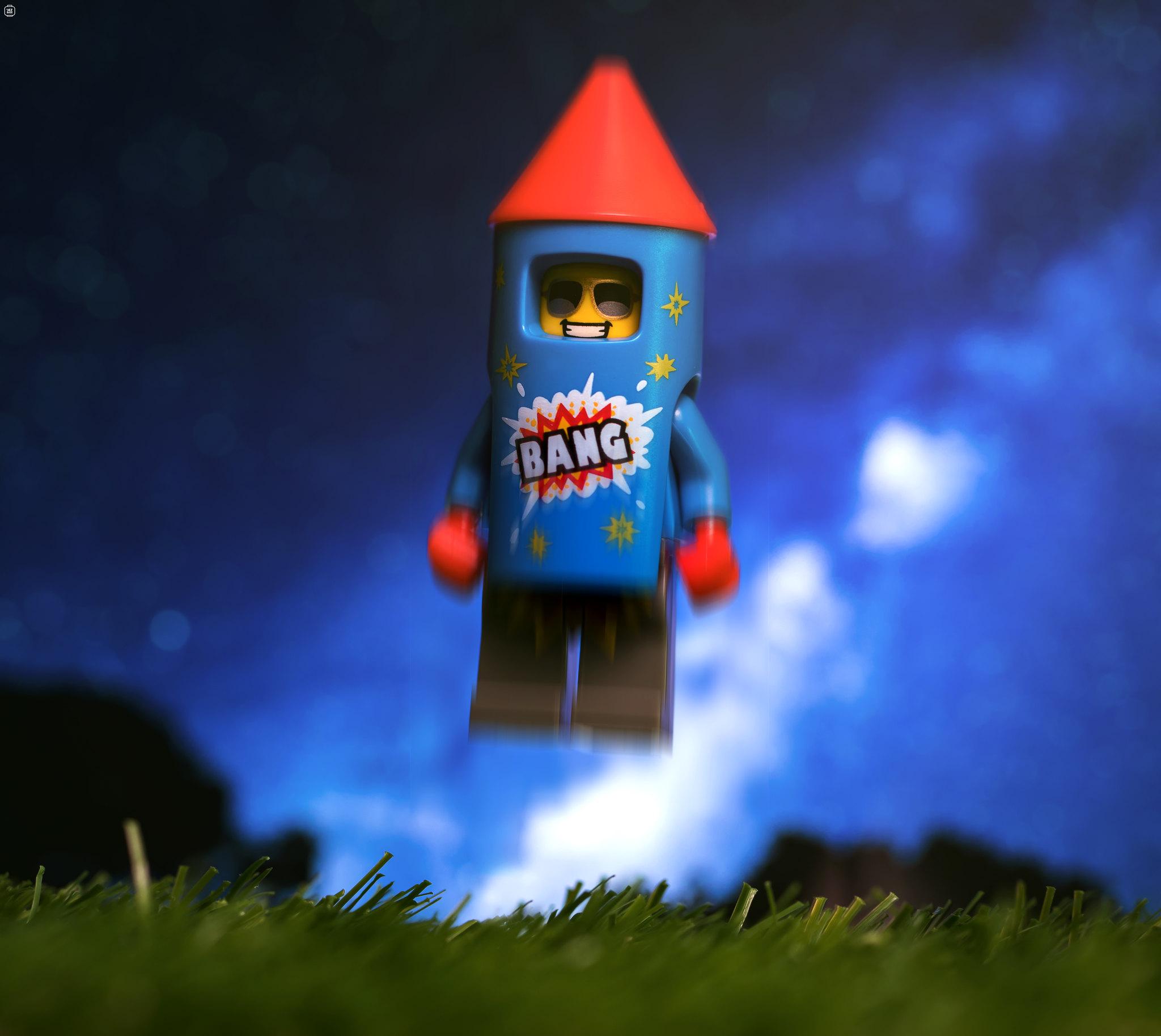 LEGO Rocketman