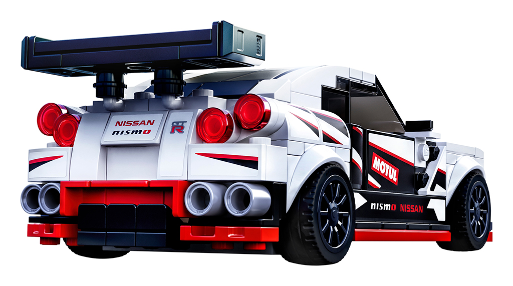 LEGO Speed Champions 76896 Nissan GT R NISMO 4
