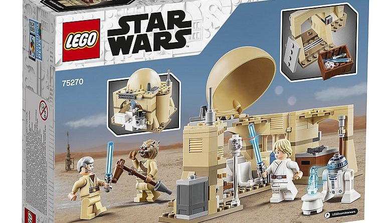 LEGO Star Wars 75270 Obi Wans Hut 2 780x445