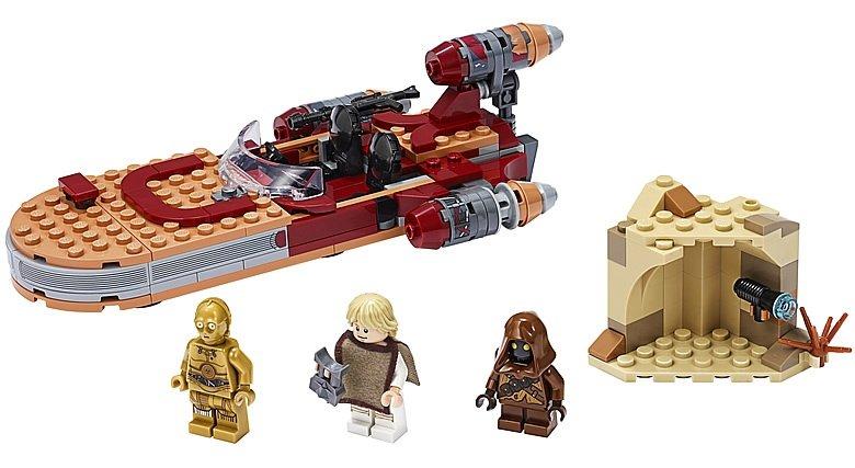 LEGO Star Wars 75271 Lukes Landspeeder 3