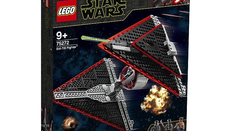 LEGO Star Wars 75272 Sith TIE Fighter 1 780x445