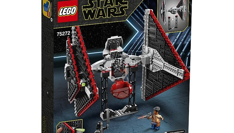 LEGO Star Wars 75272 Sith TIE Fighter 2 780x445