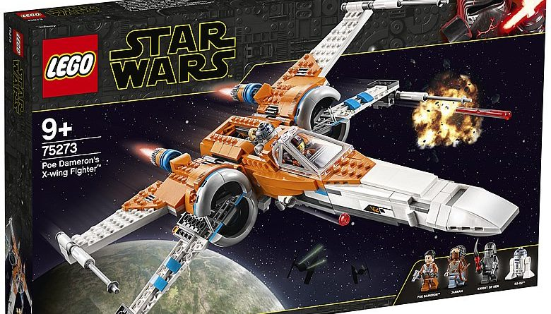 LEGO Star Wars 75273 Poe Dameron X Wing Fighter 1 780x445
