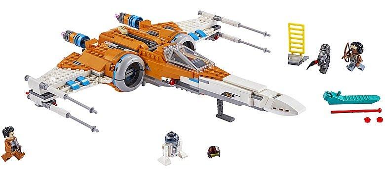 LEGO Star Wars 75273 Poe Dameron X Wing Fighter 3