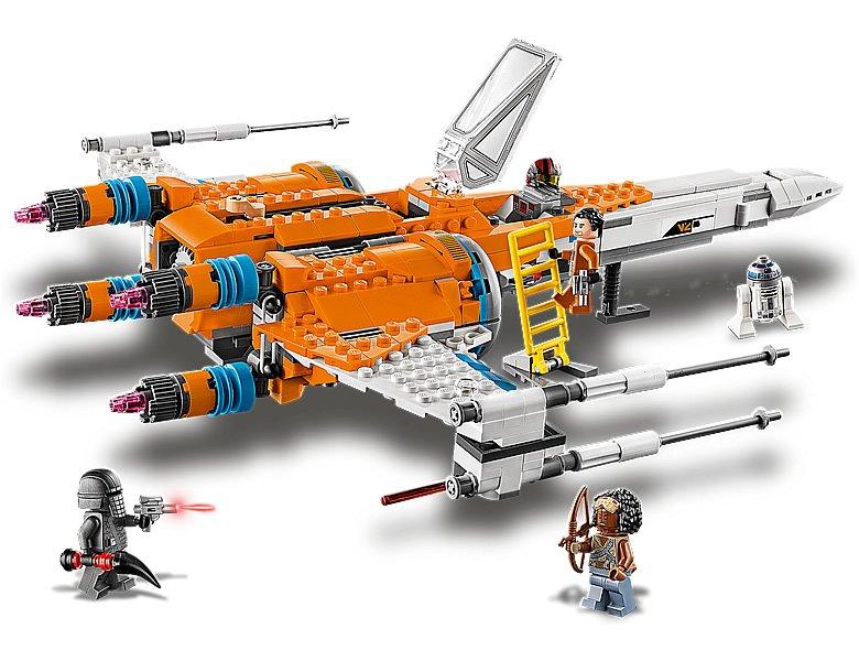 LEGO Star Wars 75273 Poe Dameron X wing Fighter 5