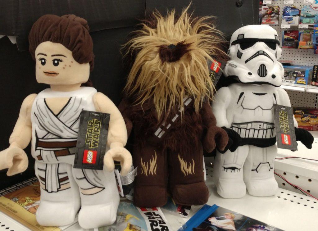 LEGO Star Wars plush toys