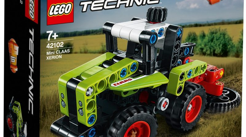 LEGO Technic 42102 Mini CLAAS XERION 1 800x445