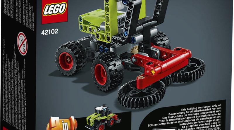 LEGO Technic 42102 Mini CLAAS XERION 2 800x445