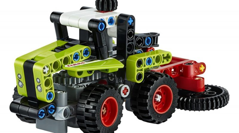 LEGO Technic 42102 Mini CLAAS XERION 3 800x445