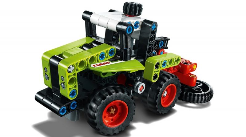 LEGO Technic 42102 Mini CLAAS XERION 4 800x445