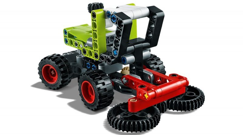 LEGO Technic 42102 Mini CLAAS XERION 5 800x445