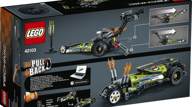 LEGO Technic 42103 Dragster 2 800x445