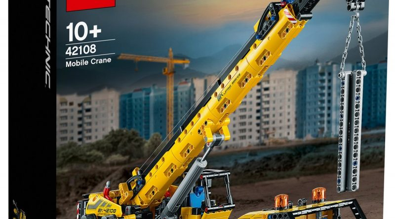 LEGO Technic 42108 Mobile Crane 1 800x445