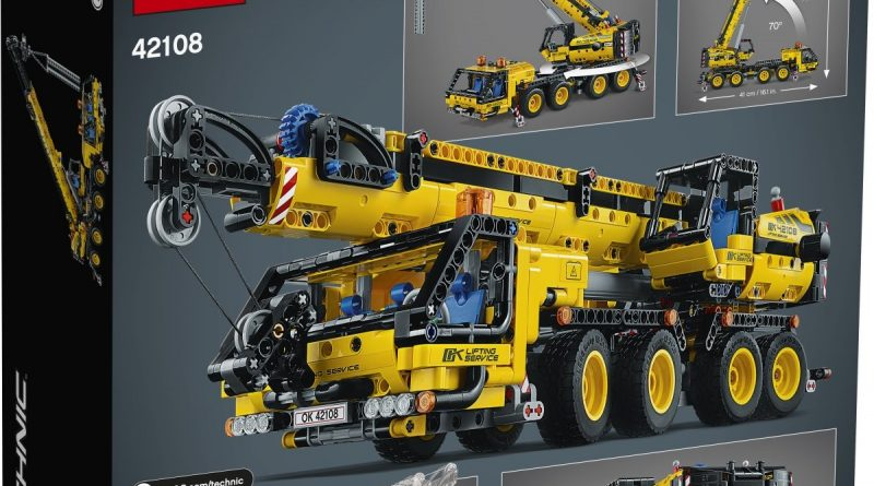 LEGO Technic 42108 Mobile Crane 2 800x445