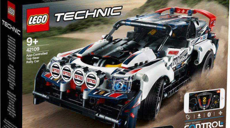 LEGO Technic 42109 Top Gear Rally Car 1