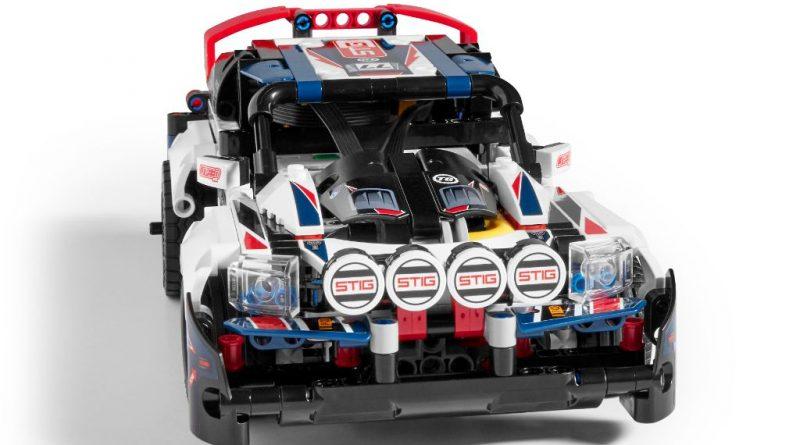 LEGO Technic 42109 Top Gear Rally Car 18