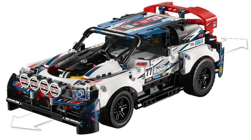 LEGO Technic 42109 Top Gear Rally Car 27