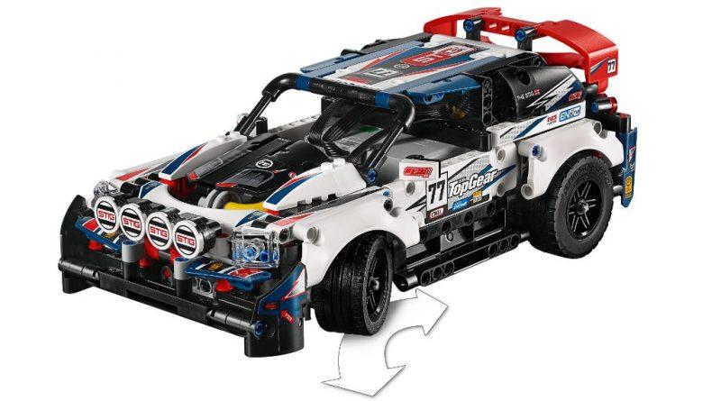 LEGO Technic 42109 Top Gear Rally Car 29
