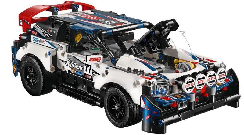 LEGO Technic 42109 Top Gear Rally Car 31