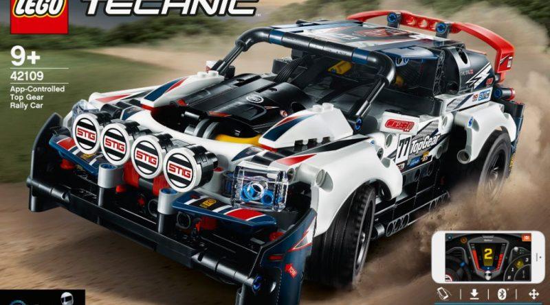 LEGO Technic 42109 Top Gear Rally Car 5