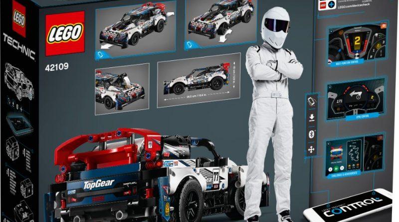 LEGO Technic 42109 Top Gear Rally Car 9