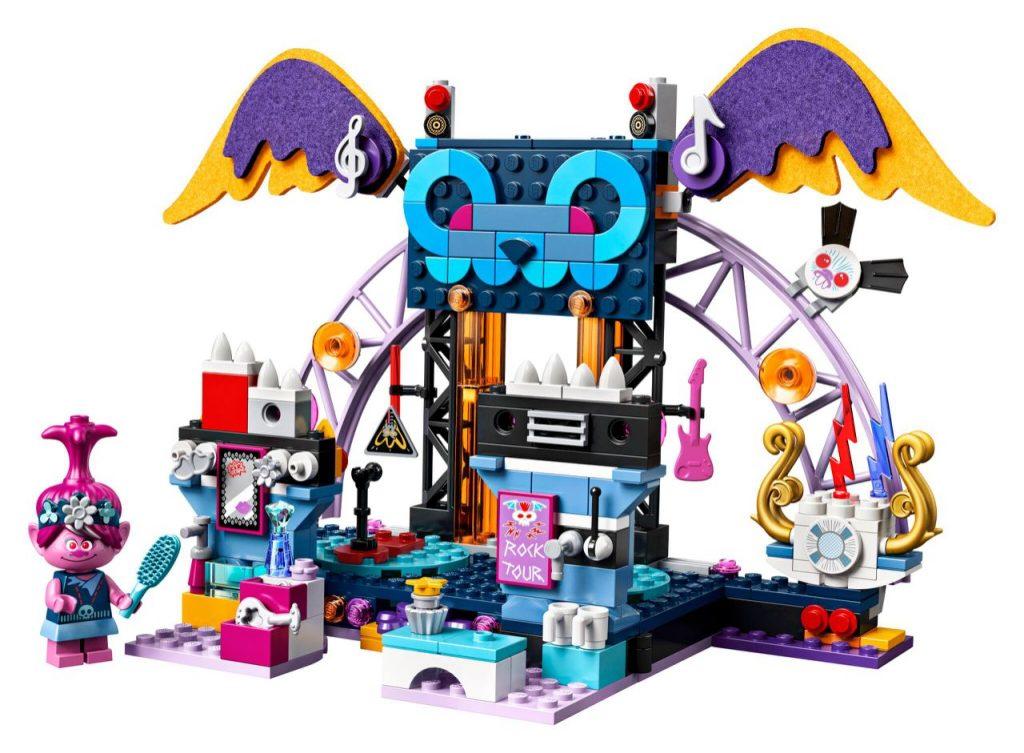 LEGO Trolls World Tour 41254 Volcano Rock City Concert 2 1024x753