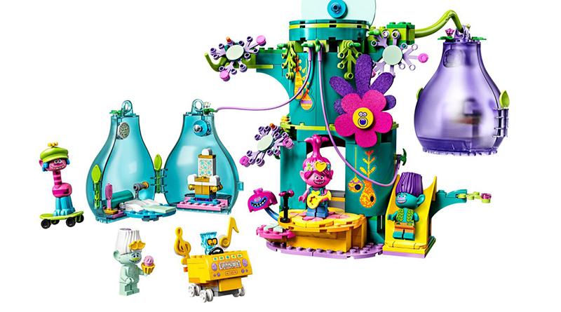LEGO Trolls World Tour 41255 Pop Village Celebration featured 800 445