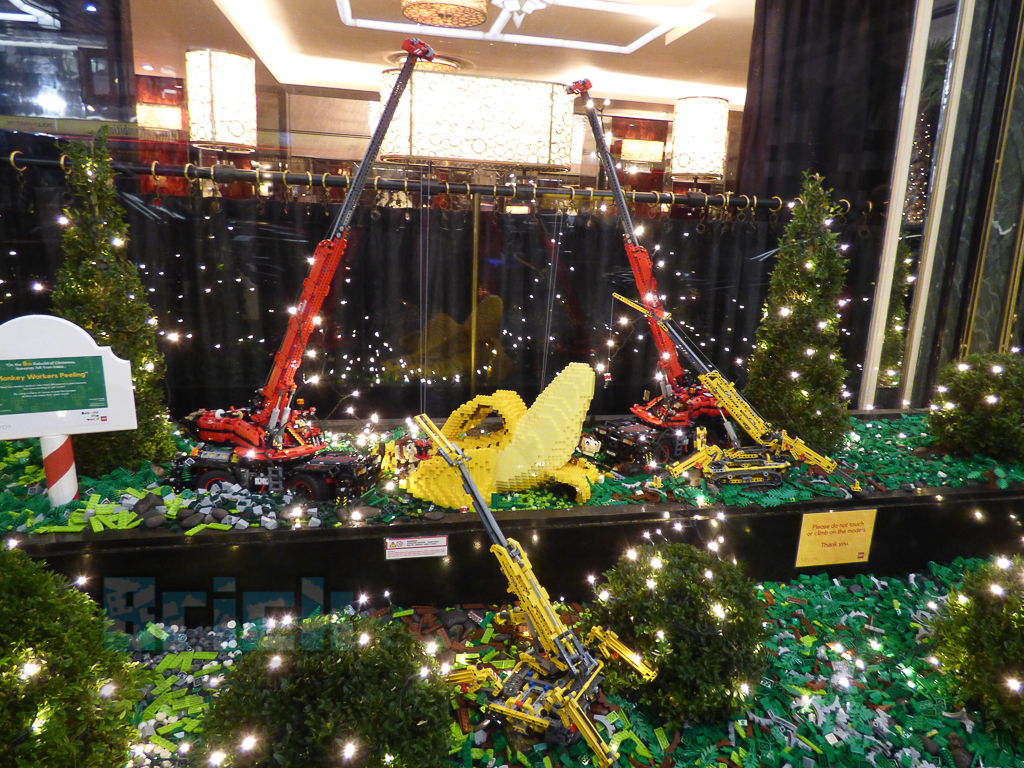 LEGO Twelve Rebuilds of Christmas at The Savoy