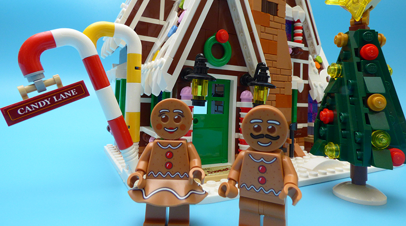 LEGO Winter Village 10267 Gingerbread House Featured 2 800 445