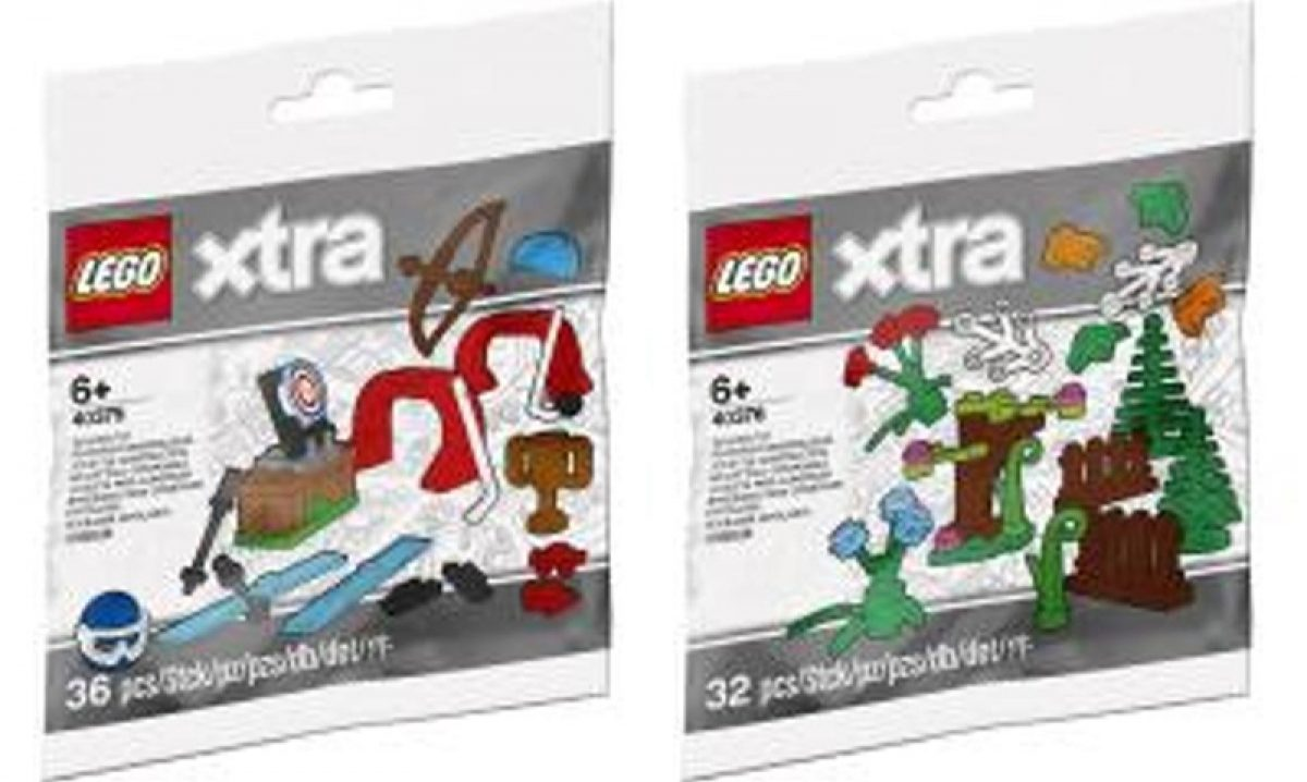 LEGO 40375 XTRA Sports ACCESSORIES POLYBAG Brand New NIB Hockey Ski Archery