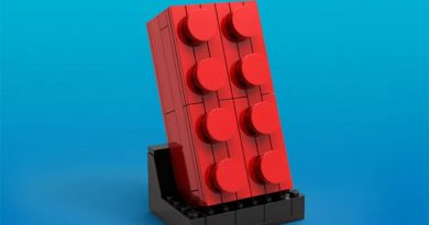 LEGO Buildable Red Brick