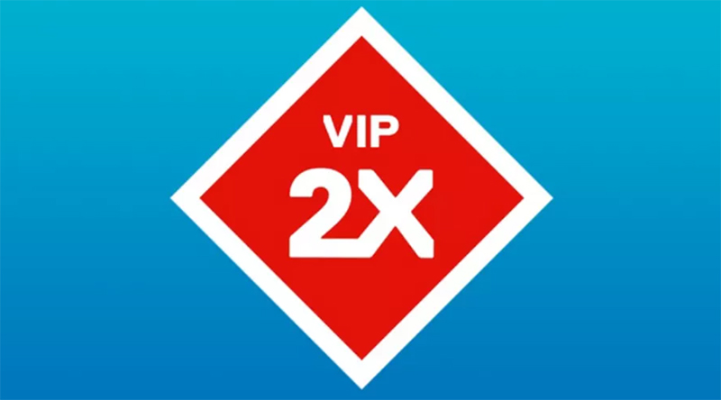 Double LEGO VIP points