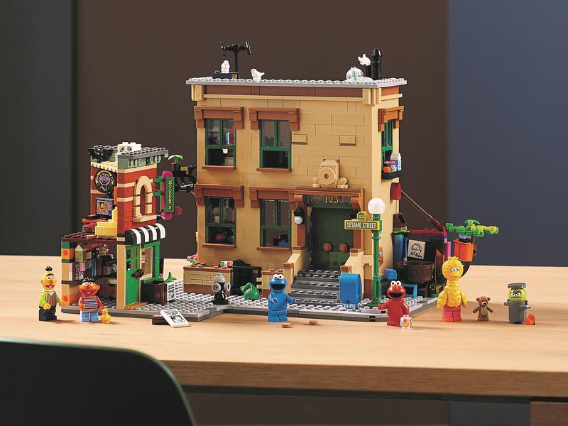 21324 123 Sesame Street LEGO Ideas Top 20 LEGO Sets List