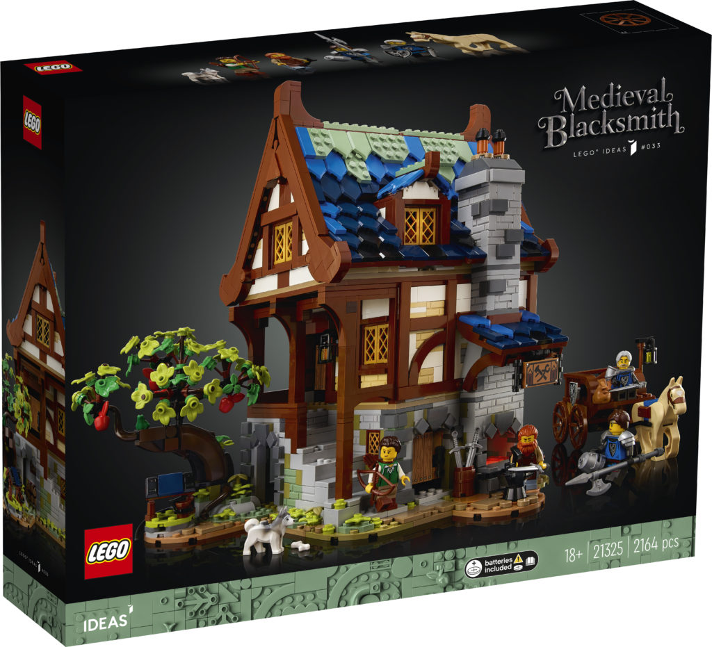 21325 Medieval Blacksmith Box 1