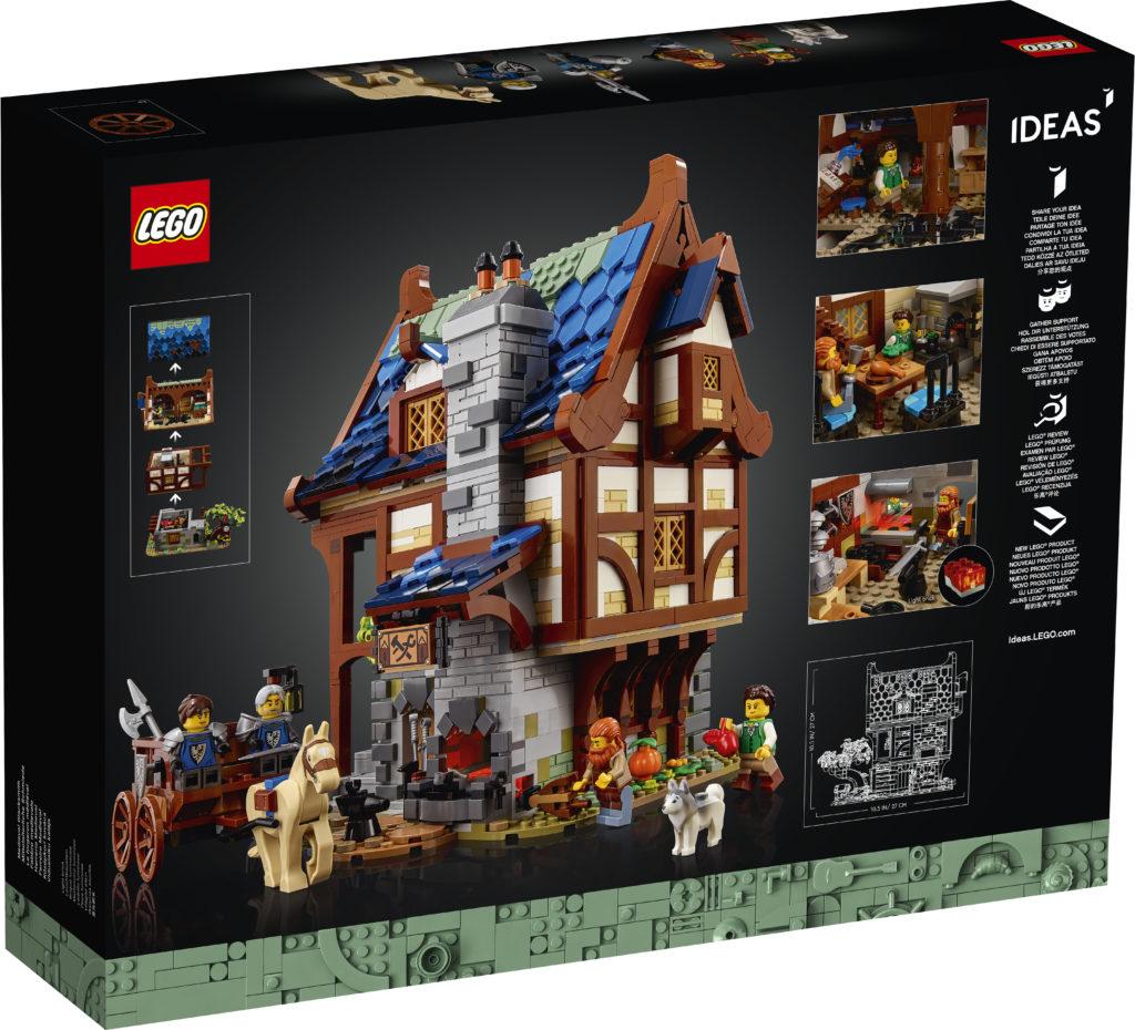 21325 Medieval Blacksmith Box 2