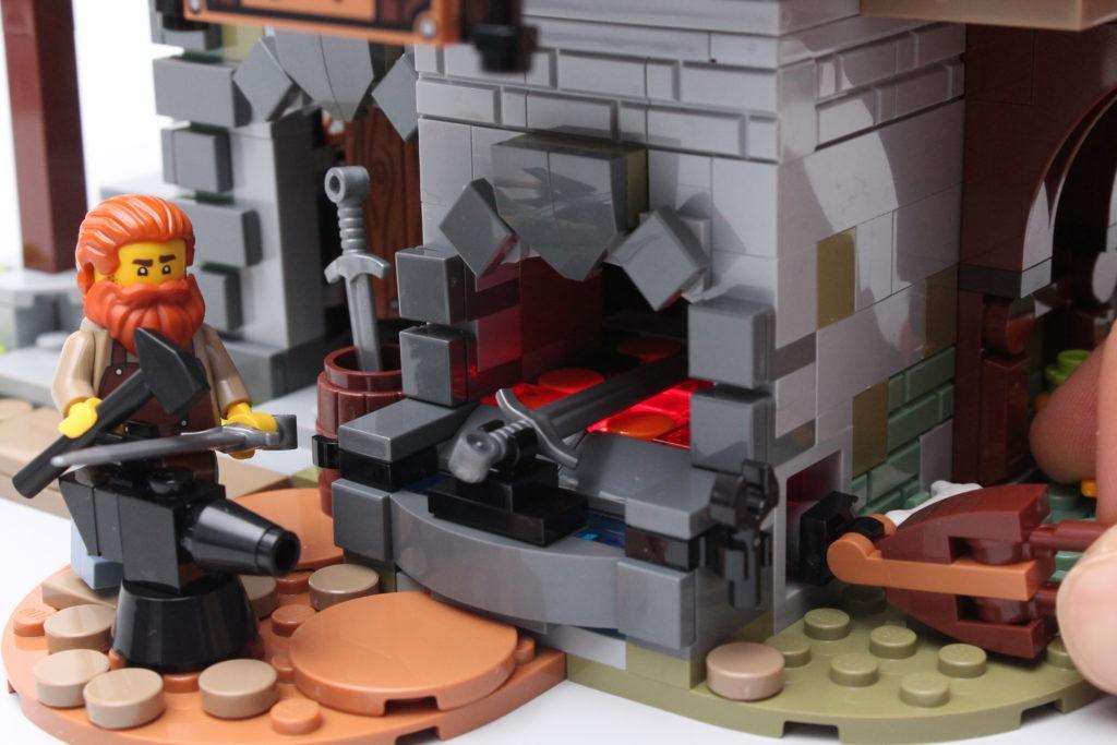 21325 Medieval Blacksmith Review 12