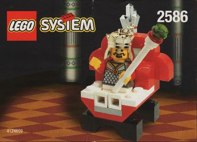 2586 The Crazy LEGO King