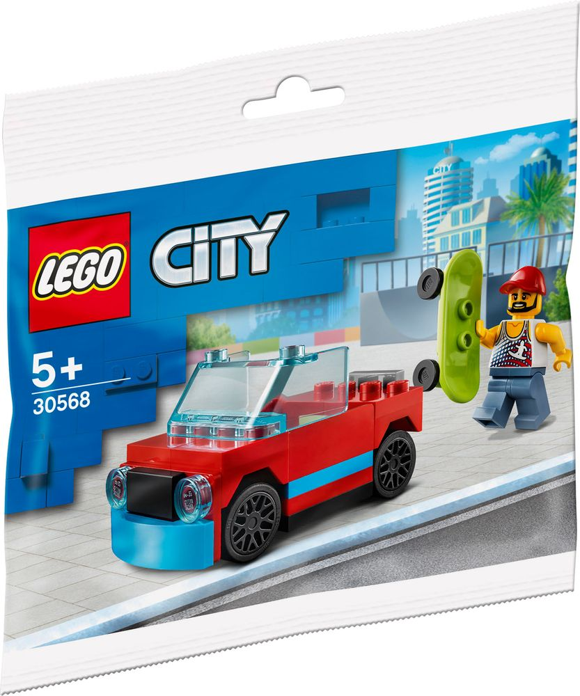 30568 LEGO Skateboarder Polybag