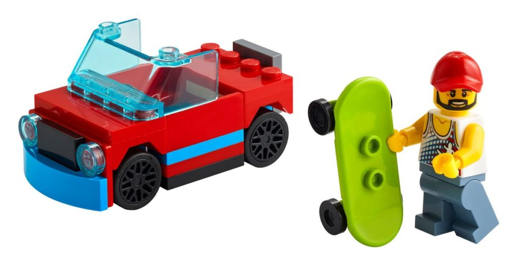 30568 LEGO Skateboarder Polybag 1