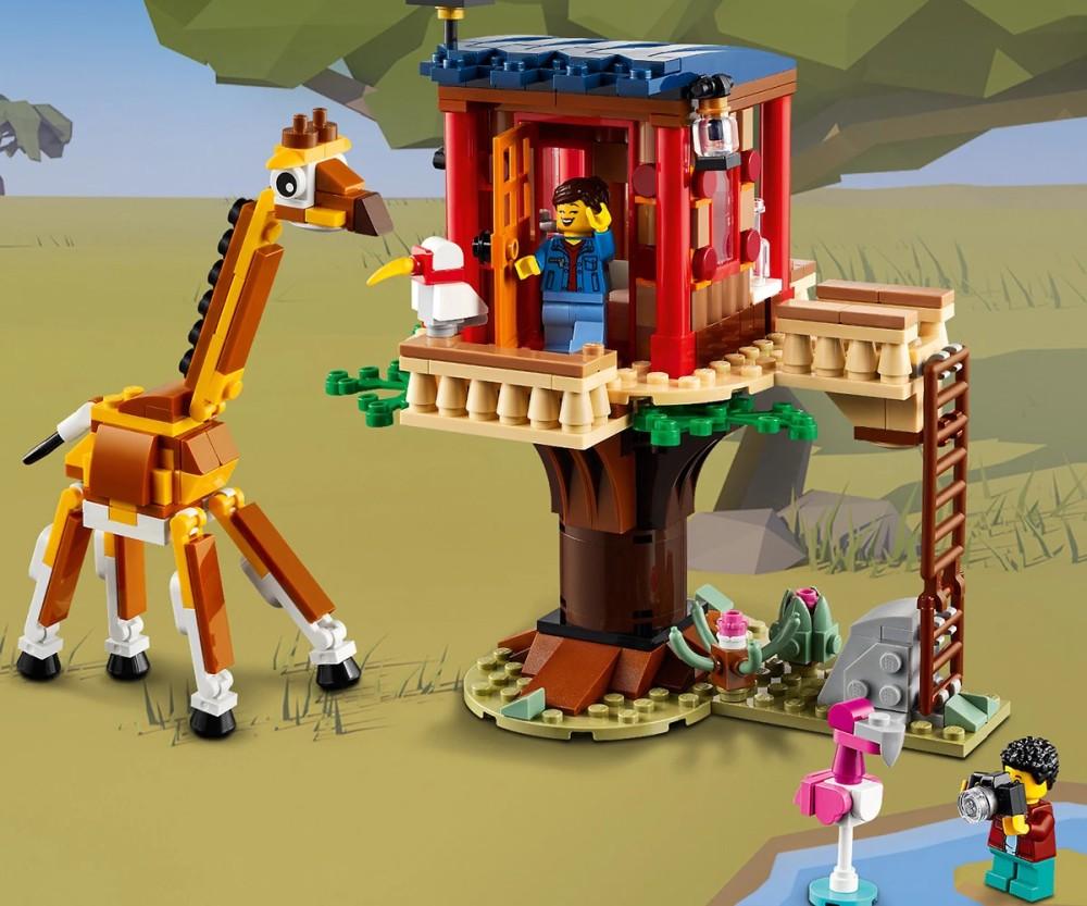31116 Safari Wildlife Tree House 6