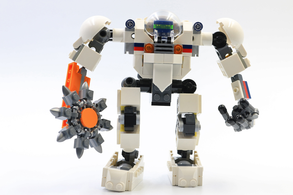 LEGO Creator 3-in-1 31115 Space Mining Mech review