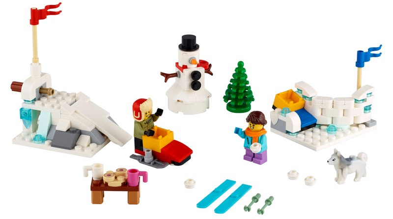 40424 Winter Snowball Fight title