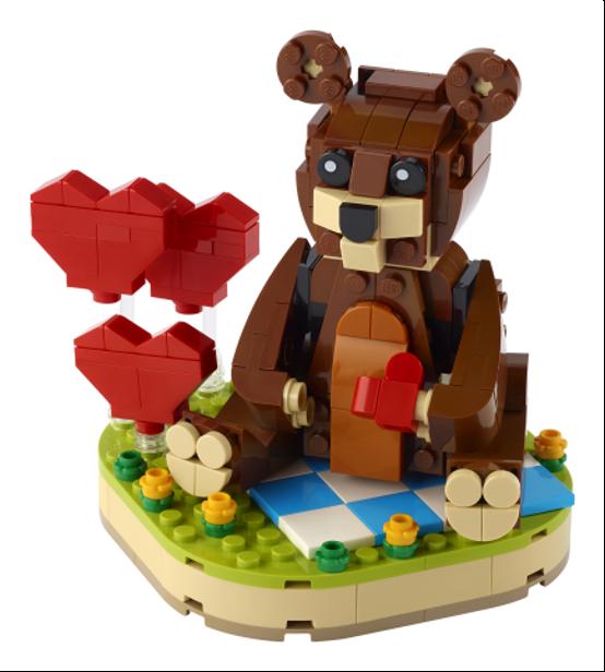 40462 Valentines Brown Bear 1