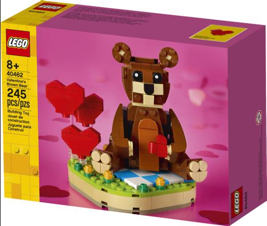 40462 Valentines Brown Bear 2