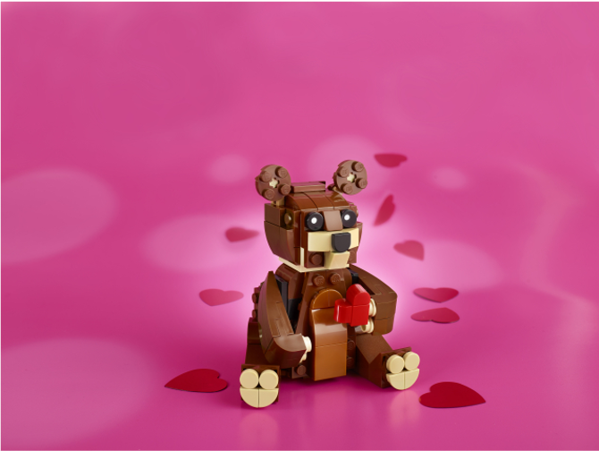 40462 Valentines Brown Bear 4